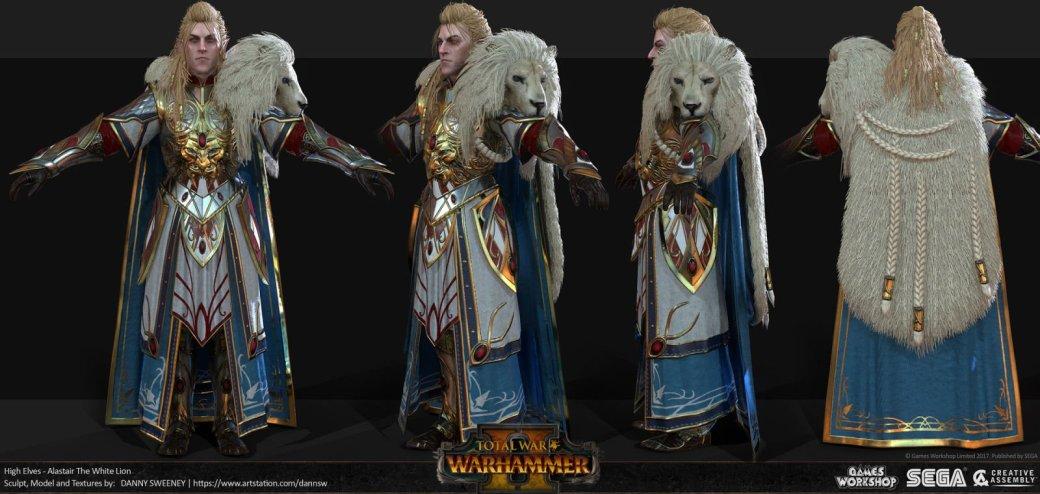 Взгляните напотрясающие концепт-арты Total War: Warhammer II. - Изображение 41