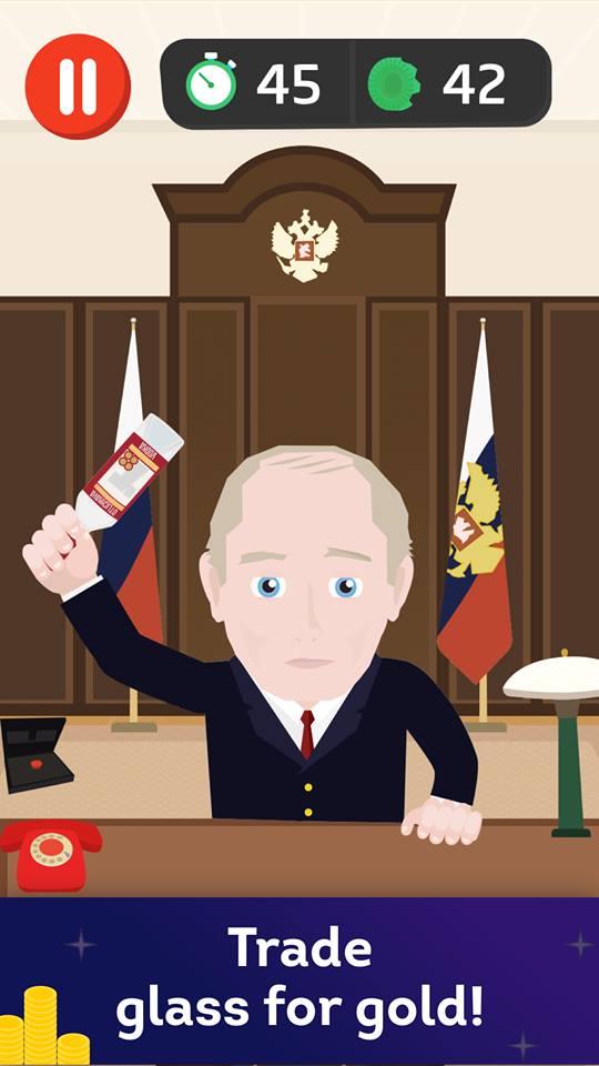 Apple запретила игру, в которой Путин разбивает головой бутылки водки | Канобу - Изображение 6540