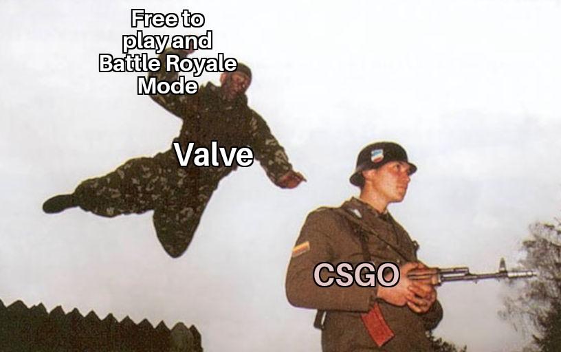 Battle Royale в CS:GO только появился, а интернет уже полнится мемами. Мы собрали лучшие | Канобу - Изображение 1