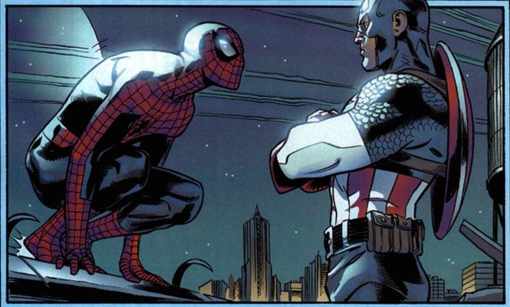 Фанат MCU предположил, что Капитан Америка знал оЧеловеке-пауке даже до«Противостояния» | Канобу - Изображение 6495