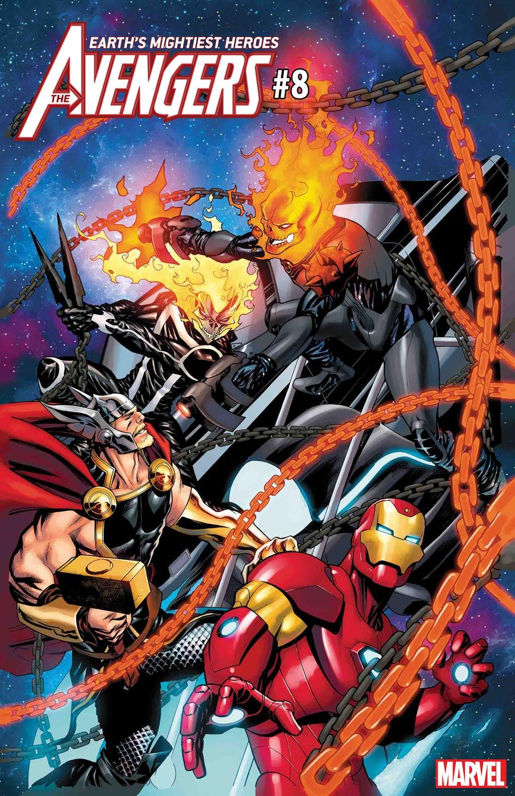 Космический Призрачный гонщик против вселенной Marvel. Правда, пока только навариативных обложках | Канобу - Изображение 6833
