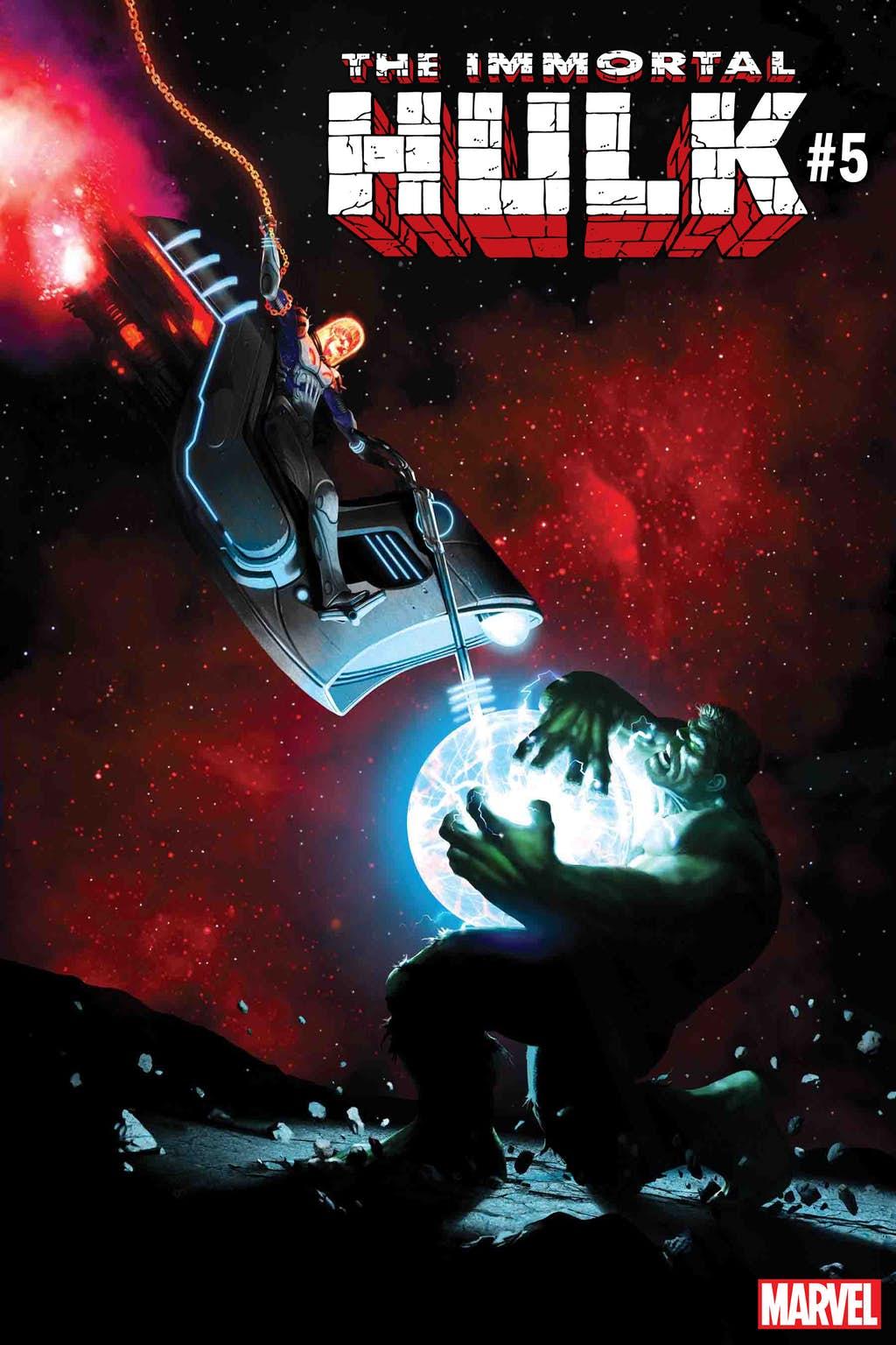 Космический Призрачный гонщик против вселенной Marvel. Правда, пока только навариативных обложках | Канобу - Изображение 6835