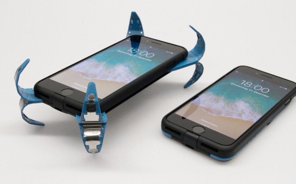 Этот чехол точно защитит ваш смартфон при падении. Выглядит, как настоящая магия. - Изображение 1