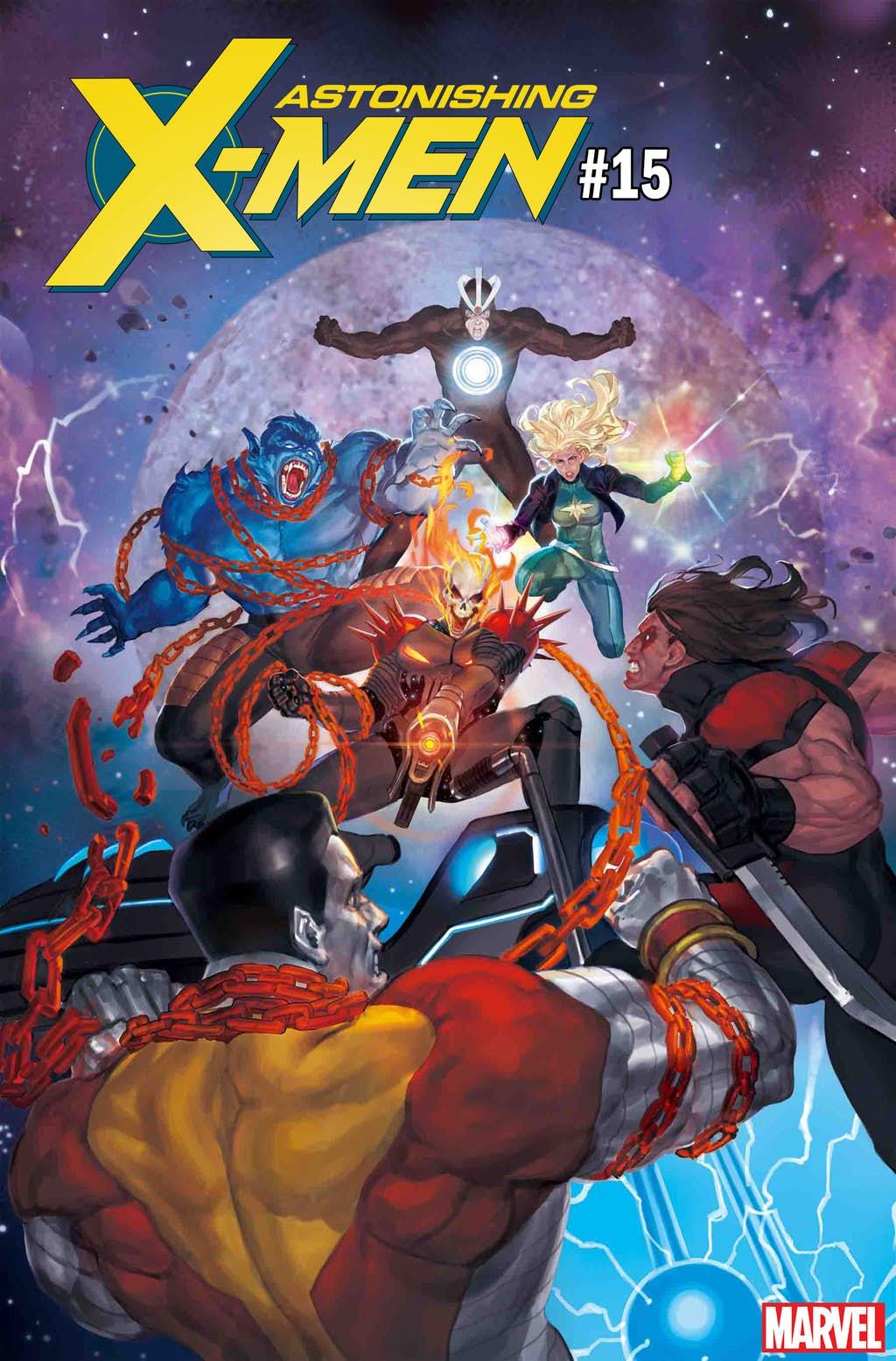 Космический Призрачный гонщик против вселенной Marvel. Правда, пока только навариативных обложках | Канобу - Изображение 6832