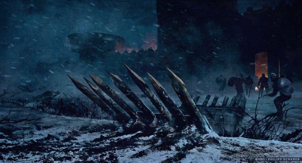 Художник выложил концепт-арты к8 сезону «Игры престолов». Иххоть сейчас ставь нарабочий стол | Канобу - Изображение 678