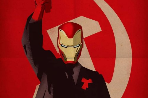 Художник изобразил супергероев DCиMarvel встиле плакатов CCСР. Получилось невероятно круто!