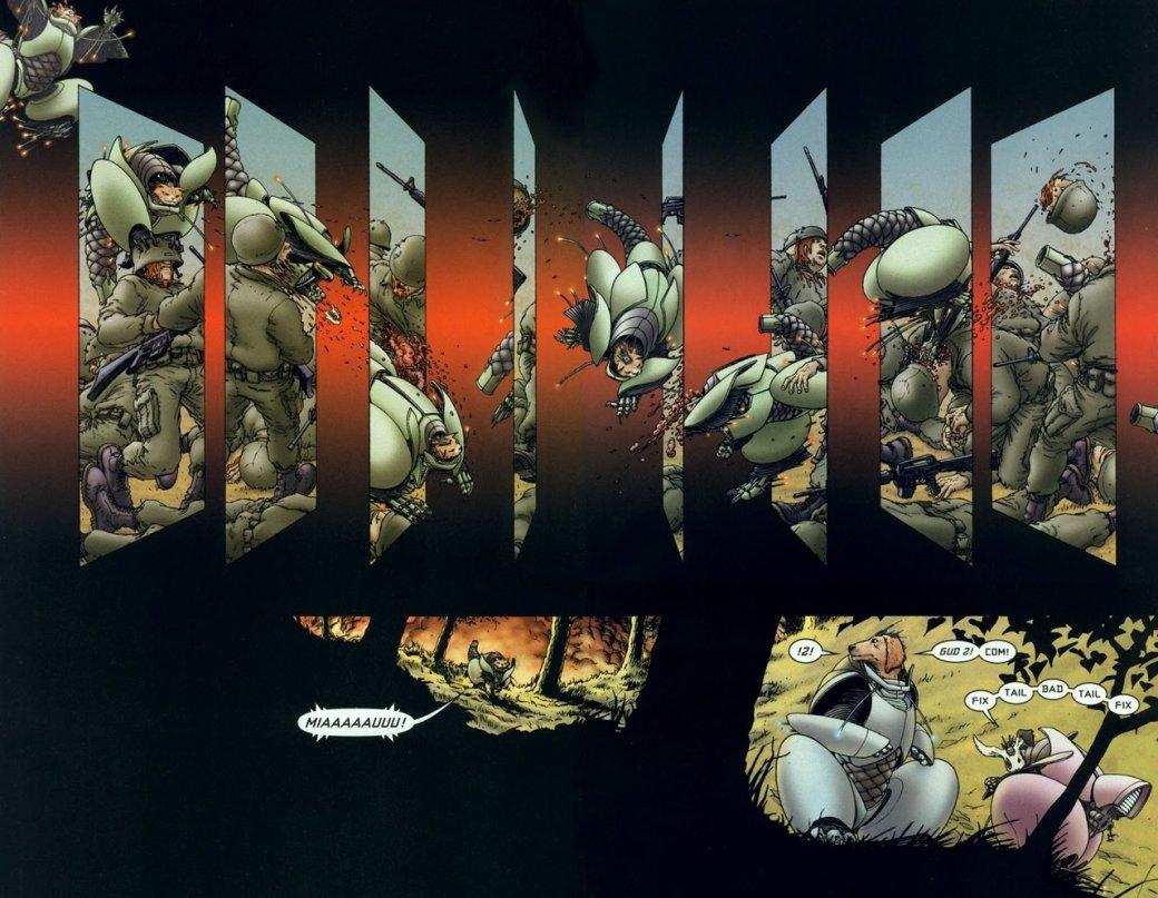«Классика Vertigo»: We3— мрачная история оживотных-киборгах, превращенных всовершенных убийц | Канобу - Изображение 2