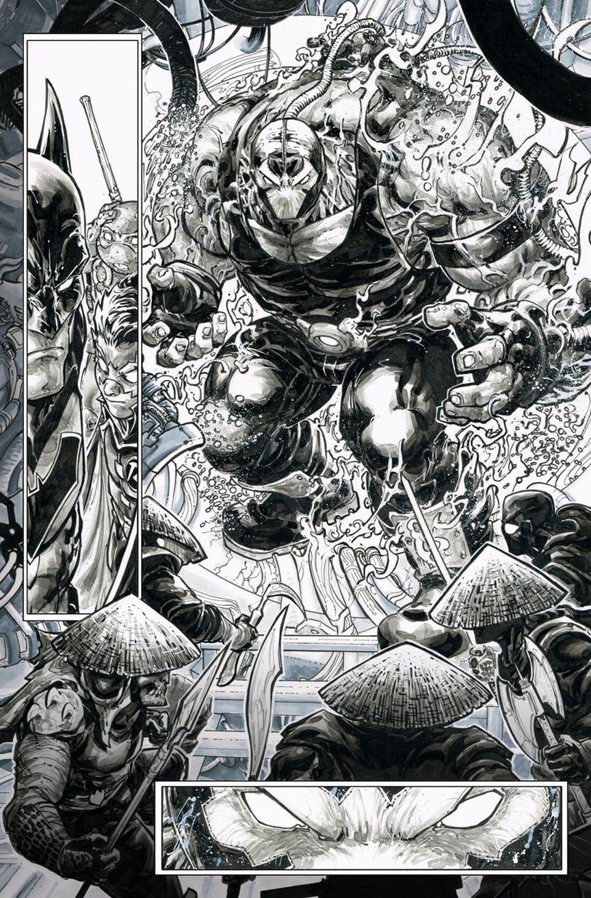 Черепашки-ниндзя снова встретят Бэтмена. Наэтот раз будут ловить Бэйна | Канобу - Изображение 3