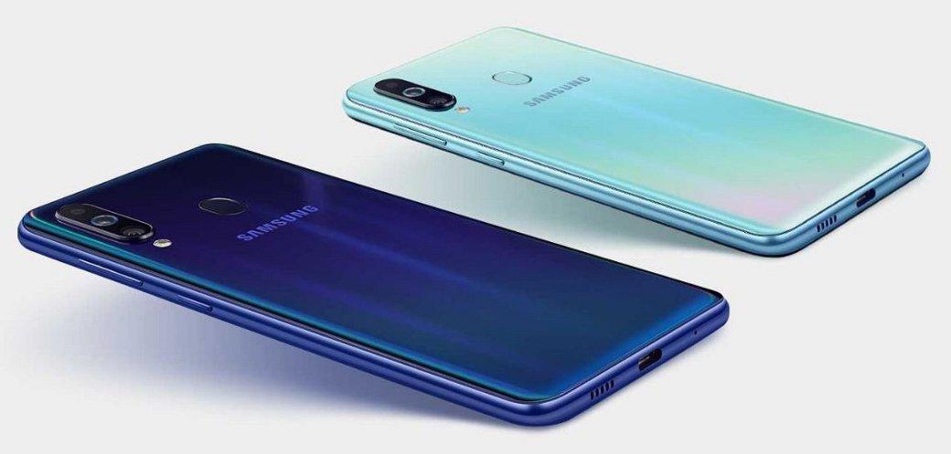 Samsung Galaxy M40: представлен новый среднебюджетный смартфон без 3,5-мм аудиоразъема | Канобу - Изображение 0