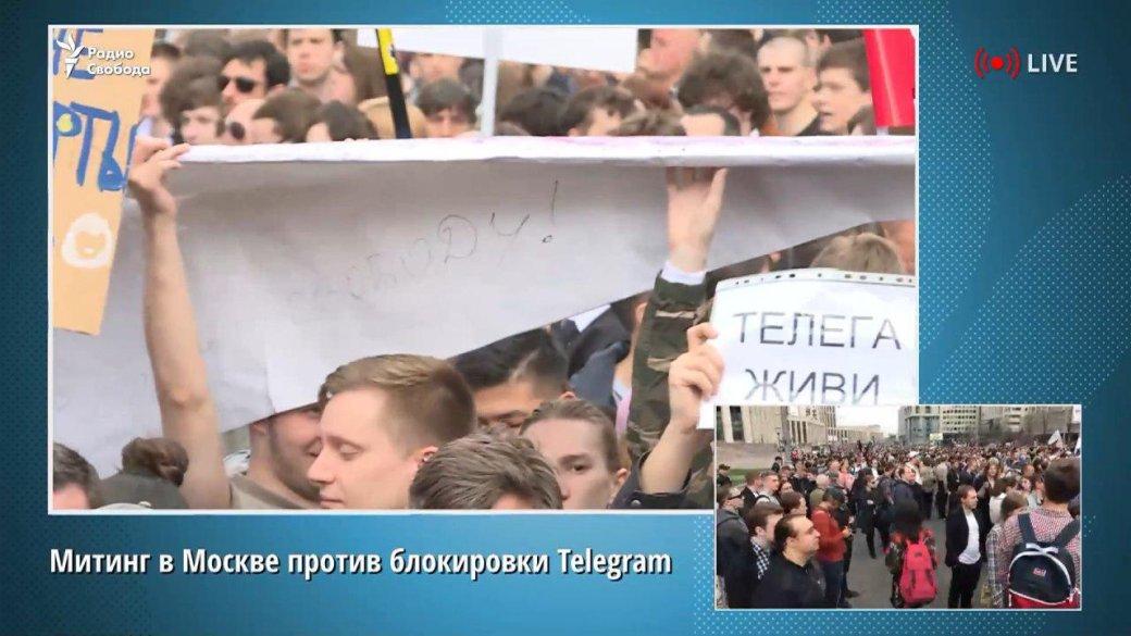 «Себе заблокируй»: как люди отреагировали намитинг против блокировки Telegram. - Изображение 15