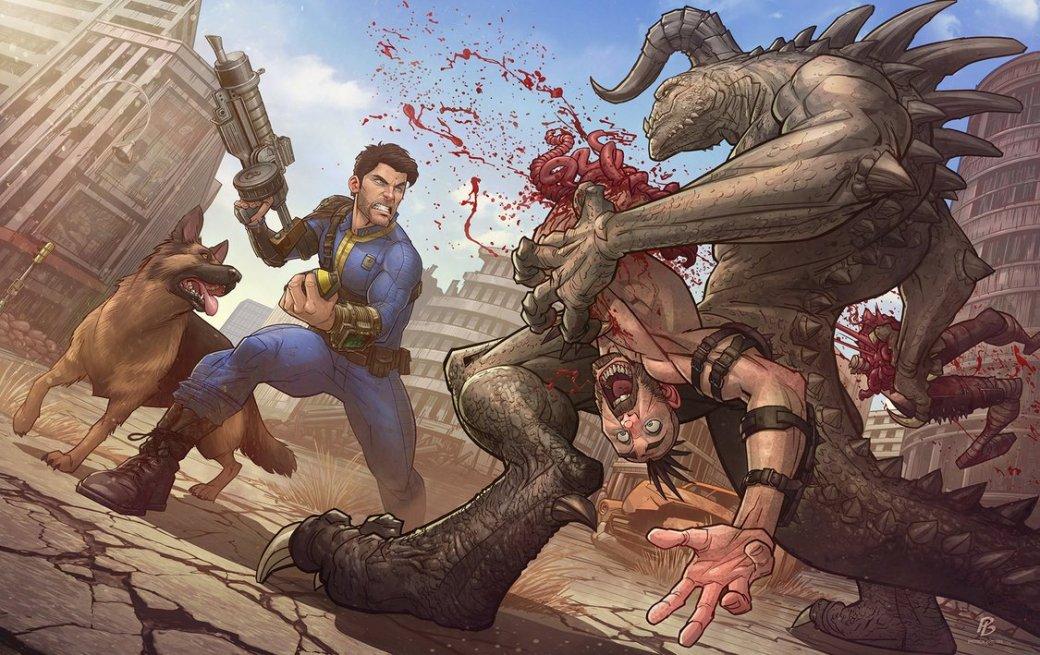 Лучший арт мира Fallout | Канобу - Изображение 69