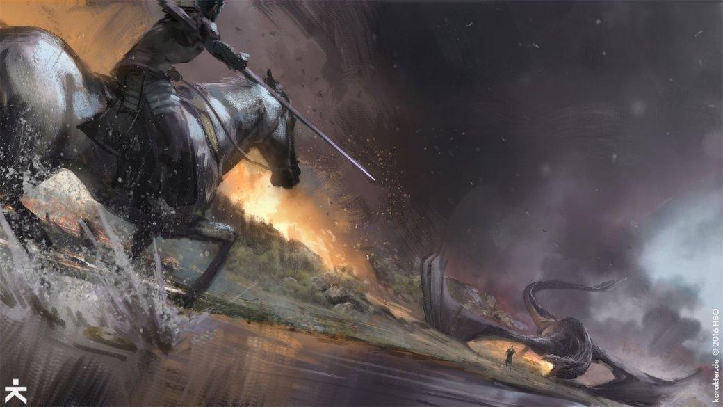 Взгляните напотрясающие концепт-арты 7 сезона «Игры престолов». - Изображение 13