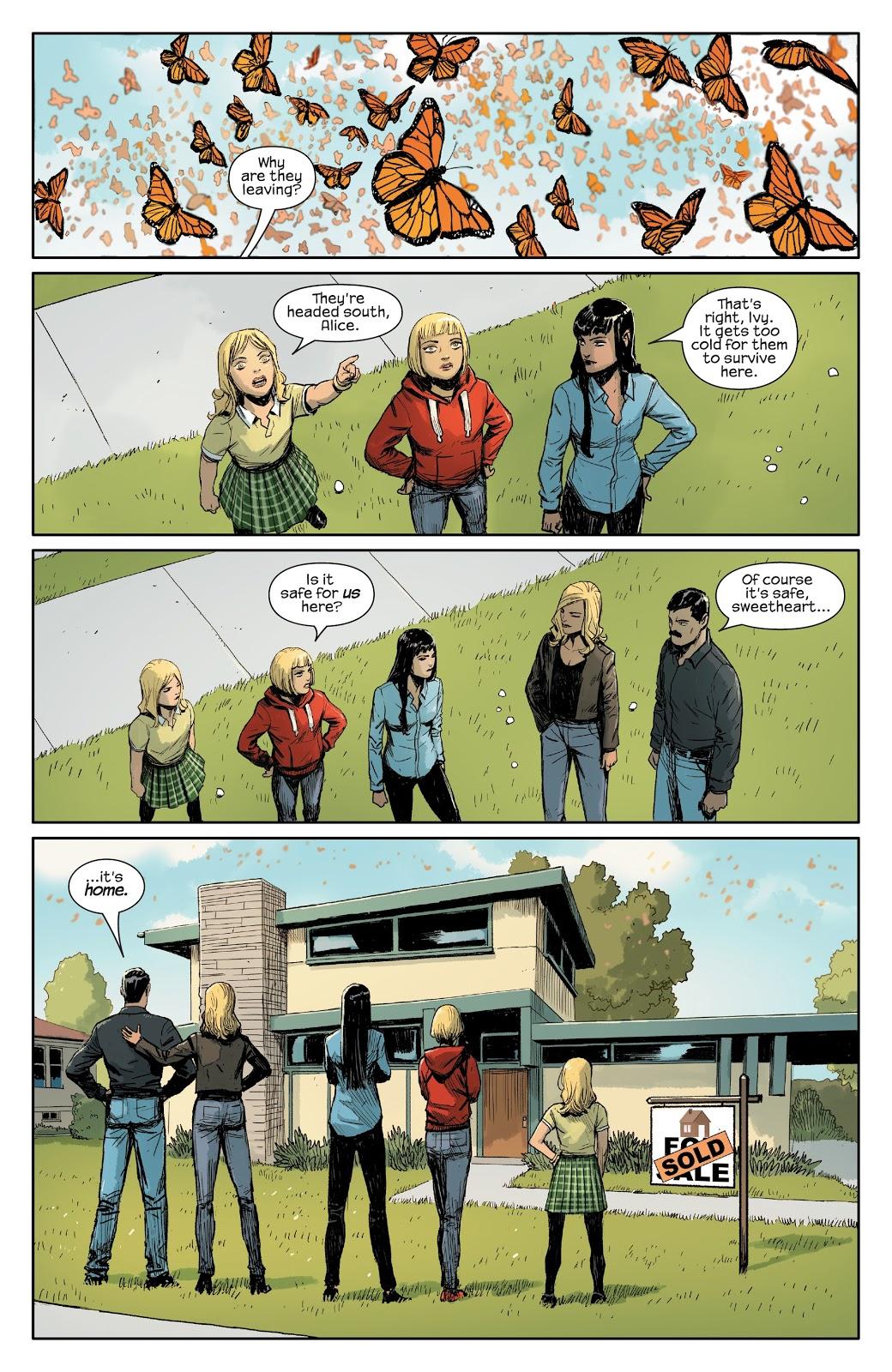 Зачем читать Meet the Skrulls? История осемье пришельцев-шпионов, скрывающихся наЗемле | Канобу - Изображение 1