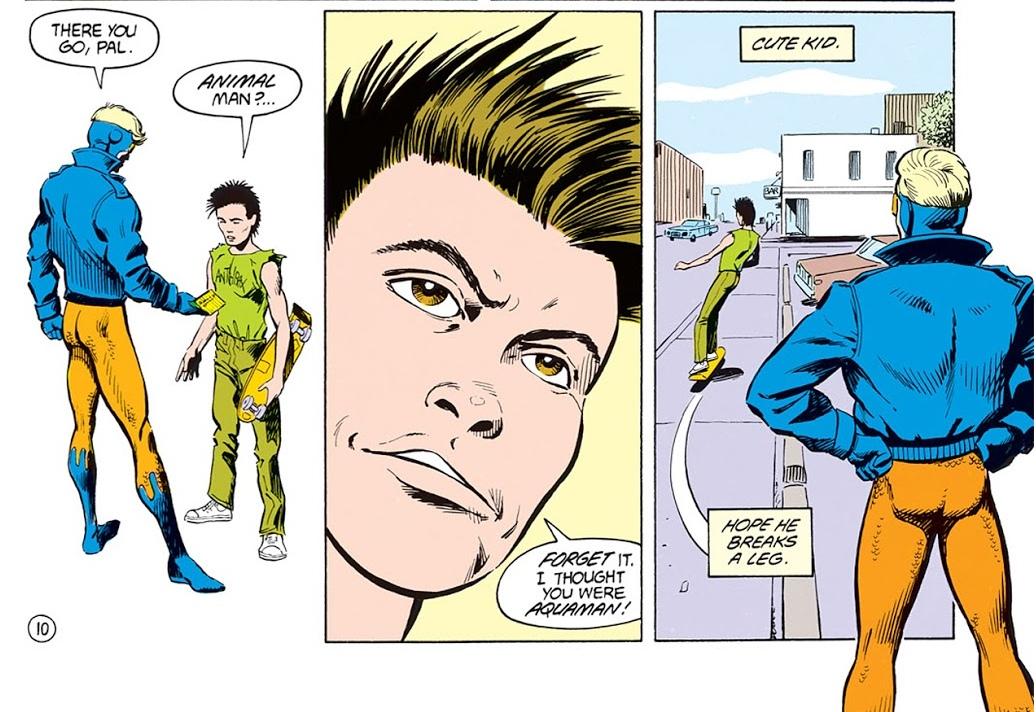 «Классика Vertigo»: Animal Man— комикс оТворце иего творении, страдающем ради читателя | Канобу - Изображение 1