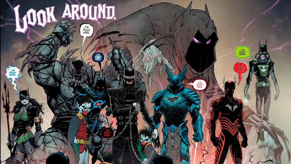 Бэтмен-Джокер раскидывает трупы Брюсов Уэйнов вГотэме. Каким получился комикс The Batman Who Laughs   Канобу - Изображение 11028