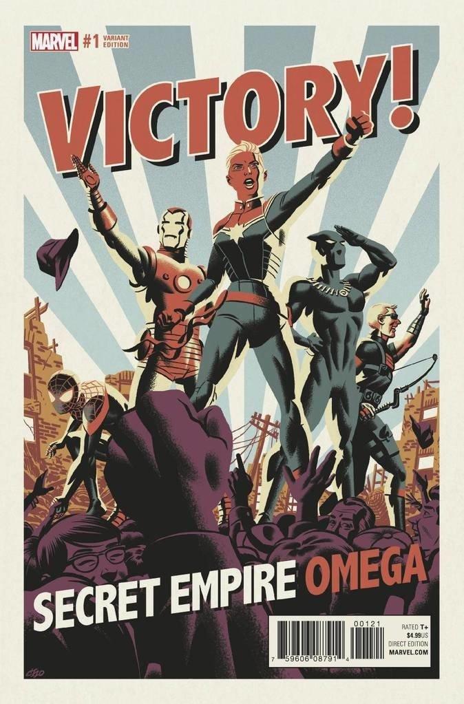 Комиксы недели. Война Веномов, семь злых Бэтменов, Капитан-Гидра. - Изображение 5