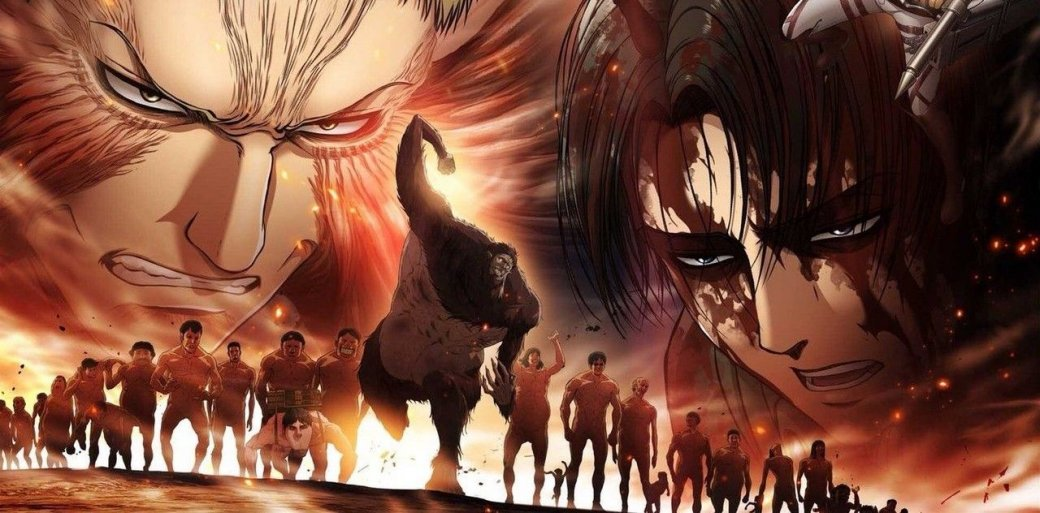 Пускай весенний аниме-сезон длится уже месяц, возвращение аниме «Атака титанов» (Shingeki noKyojin) состоялось лишь 29апреля. Wit Studio взяла перерыв наполгода, чтобы вторая половина 3 сезона получилась как можно более впечатляющей. Решение правильное, ведь события там подведут кконцу все сюжетные линии, длившиеся еще ссамого старташоу. И,если судить по1 эпизоду вернувшегося аниме, нас ожидает самый эпичный экшен весны.