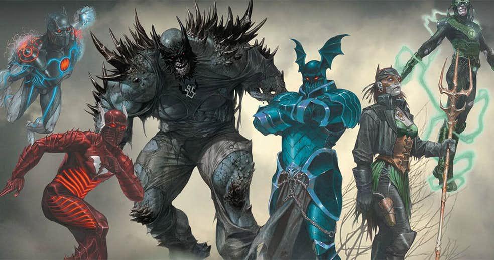 ВDark Nights: Metal мог появиться злой Бэтмен-Каратель и даже Бэтмен, слившийся с Готэм-сити!. - Изображение 1