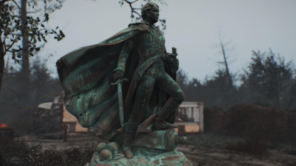 Узрите же великого! Геймеры сделали мод для Fallout 4, добавляющий в нее статуи Тодда Говарда. - Изображение 2
