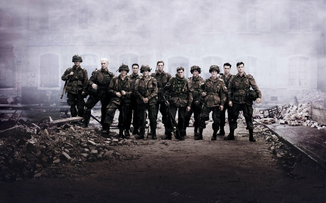 История сериалов: «Братья пооружию»   Канобу - Изображение 1