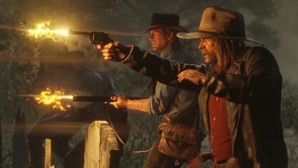 Что показали во втором геймплее Red Dead Redemption 2? Перестрелки, ограбления и попойка в баре! | Канобу - Изображение 4670