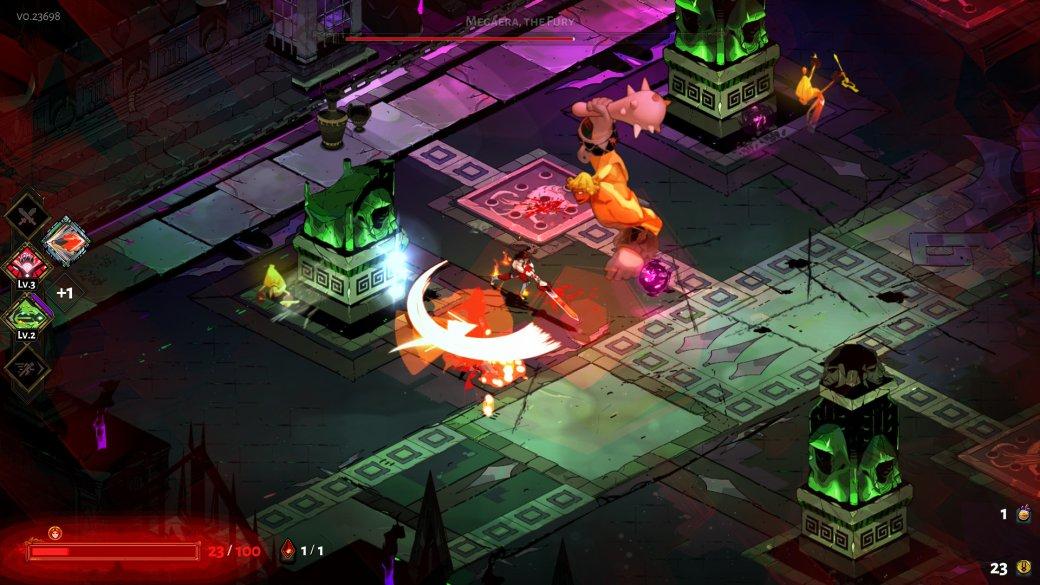 10 лучших игр 2020. 3 место. Hades— народная игра года