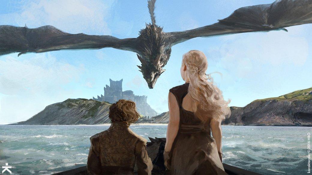 Взгляните напотрясающие концепт-арты 7 сезона «Игры престолов». - Изображение 2