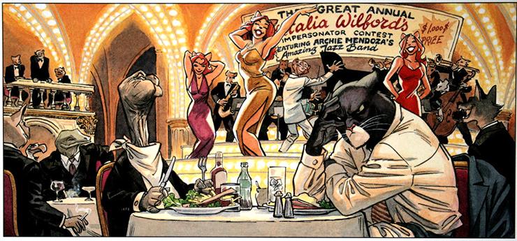 Европейский комикс окоте-детективе Blacksad станет интерактивным квестом. Первые кадры уже есть!   Канобу - Изображение 8624