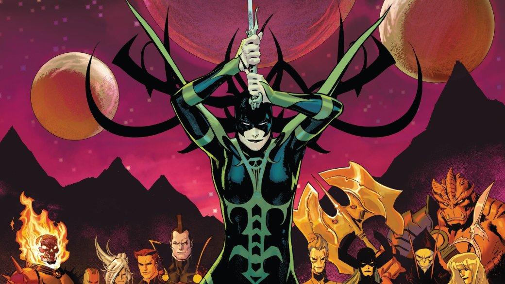 Как Хела сумела возродить своего возлюбленного Таноса настраницах комиксов Marvel? | Канобу - Изображение 1