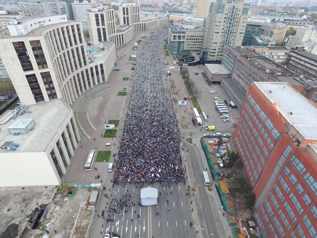 «Себе заблокируй»: как люди отреагировали намитинг против блокировки Telegram. - Изображение 21