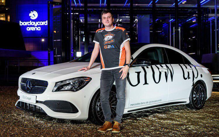 Мама, я на колесах! Лучшие игроки в Dota 2 теперь регулярно получают новые Mercedes. - Изображение 1