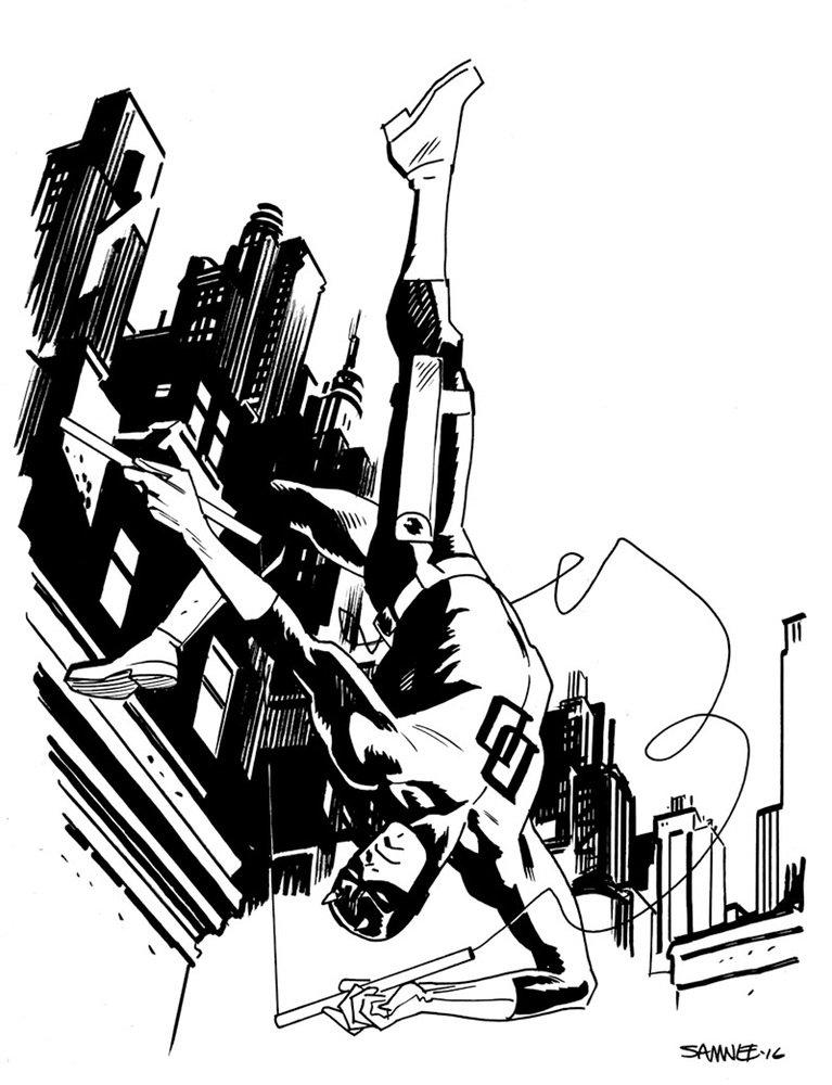 Супергерои Marvel и DC в рисунке Криса Сомни | Канобу - Изображение 8820