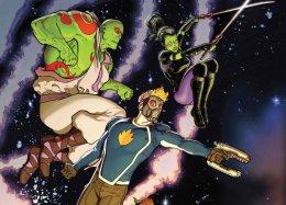 Издательство Marvel тизерит новый комикс про Стражей Галактики. Напервом промо есть даже Галактус