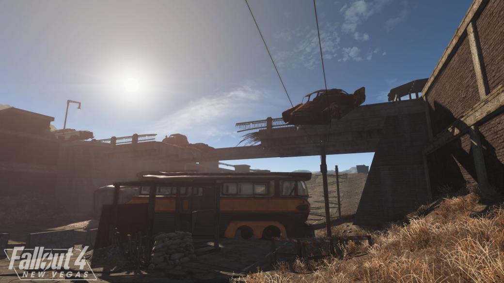 Первый геймплейный ролик иновые скриншоты модификации Fallout 4: New Vegas | Канобу - Изображение 5041