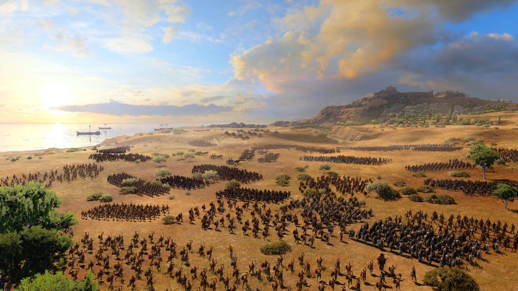 Превью Total War Saga: Troy 2019, 2020— герои мифов, боги ипопытка связать ихсреальностью | Канобу - Изображение 0