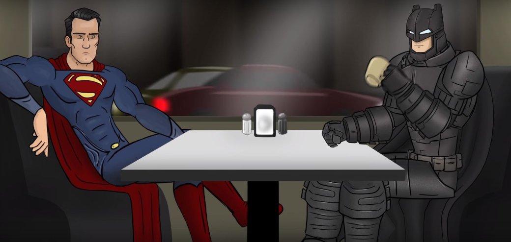 Вытолько послушайте эту озвучку «Бэтмена против Супермена» отHISHE, она уморительна!. - Изображение 1