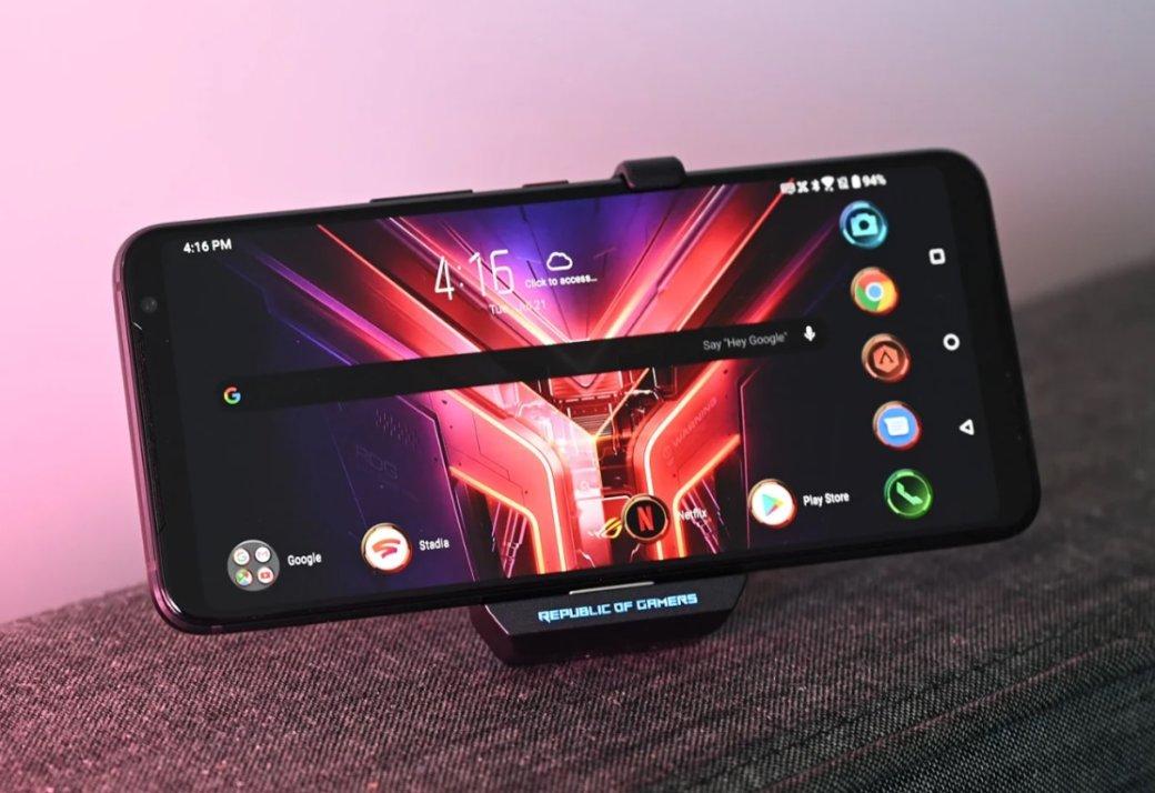 Asus представила мощнейший игровой смартфон ROG Phone3 | Канобу - Изображение 6880