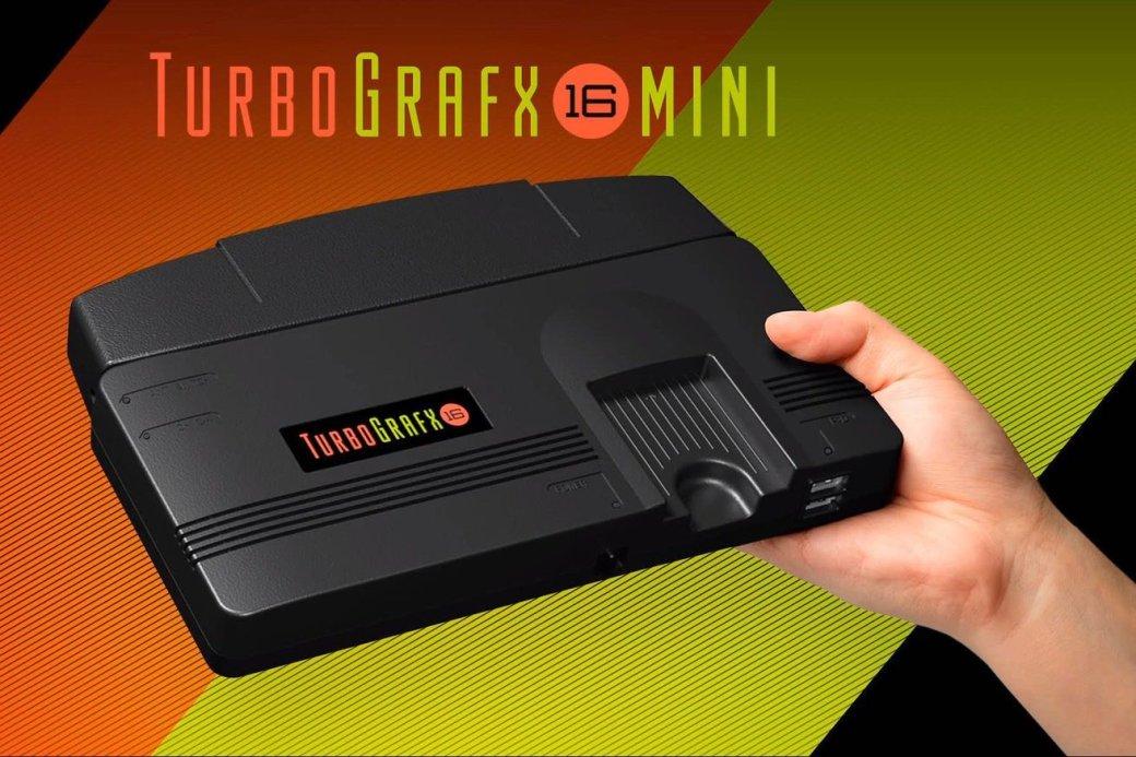 TurboGrafx-16Mini: новая ретро-консоль Konami | Канобу - Изображение 1