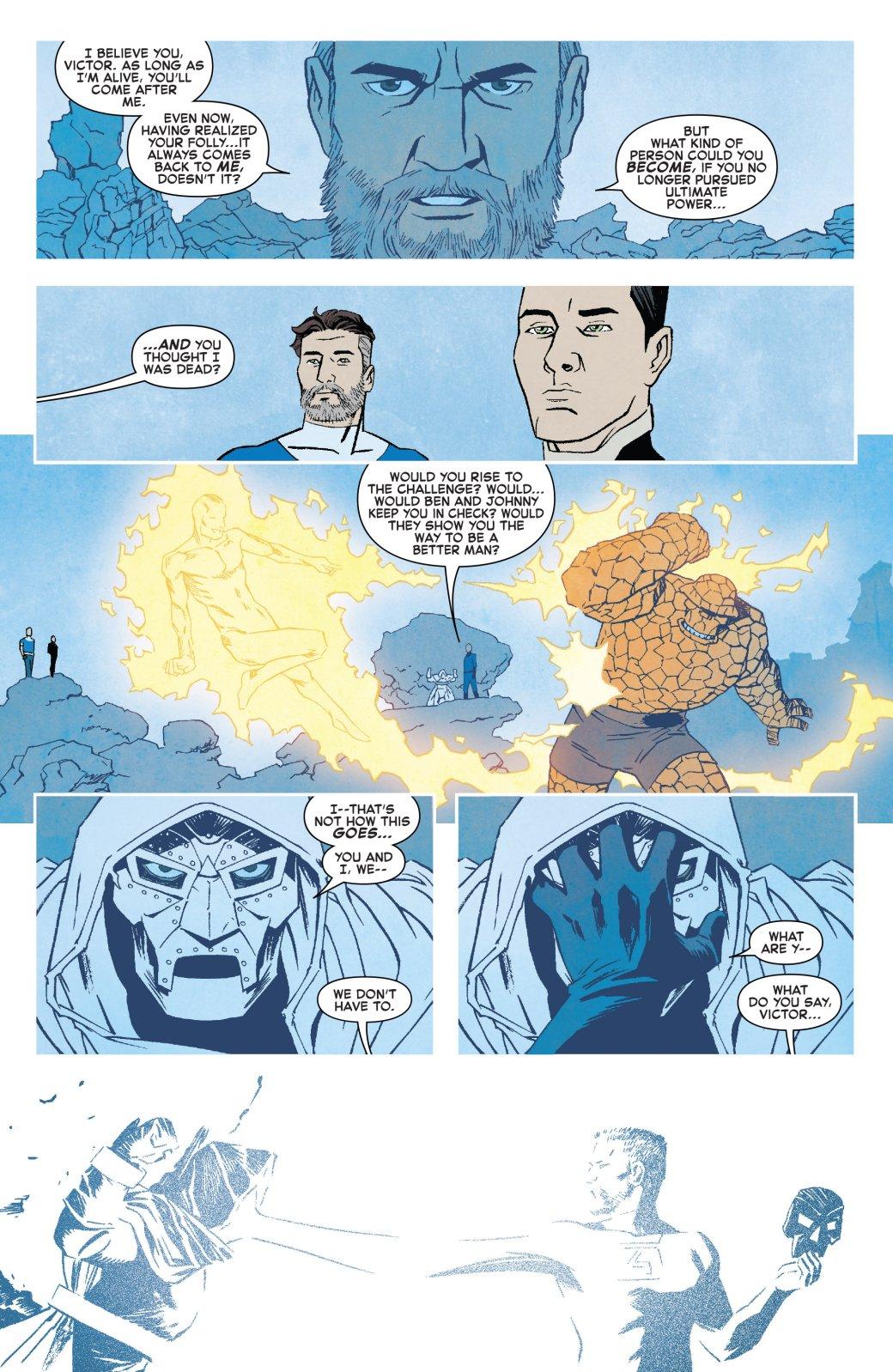 Теперь официально: почему насамом деле Доктор Дум стал супергероем?. - Изображение 2