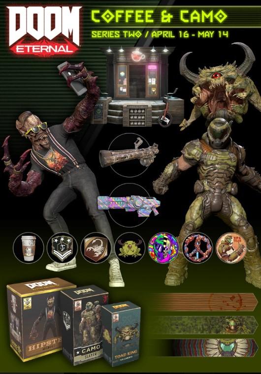 ВDOOM Eternal появились демон-хипстер икамуфляж для Палача Рока   Канобу - Изображение 3271