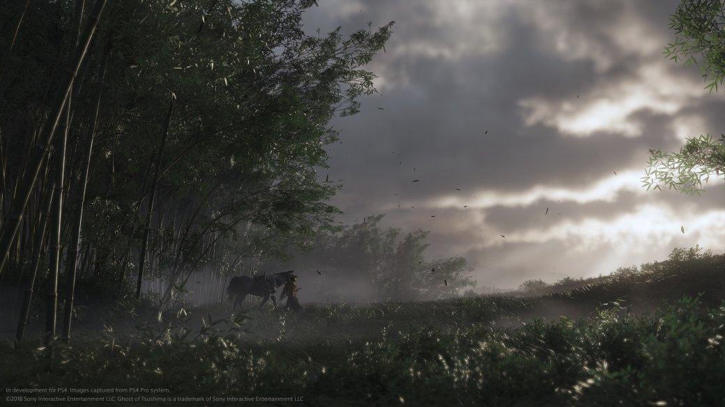 E3 2018: новые подробности геймплея, мира исюжета Ghost ofTsushima. - Изображение 1