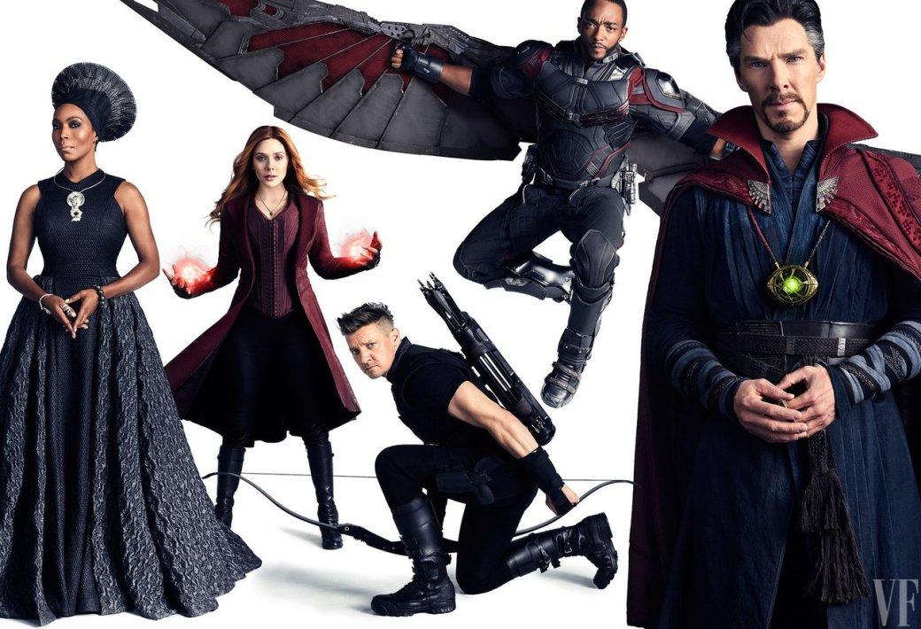 Героично: вжурнале Vanity Fair показали новые фото персонажей «Войны бесконечности» | Канобу - Изображение 425