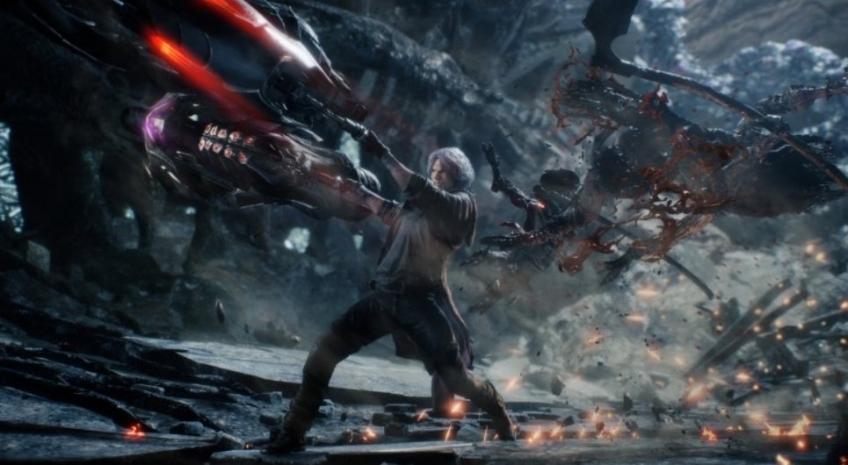Бэнг-бэнг-бэнг: в Сети появились 15 минут геймплея Devil May Cry 5! | Канобу - Изображение 7283