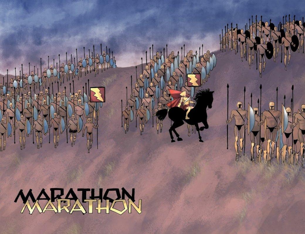Что нетак с«Ксерксом» Фрэнка Миллера— сомнительным приквелом к«300 спартанцев» | Канобу - Изображение 9648