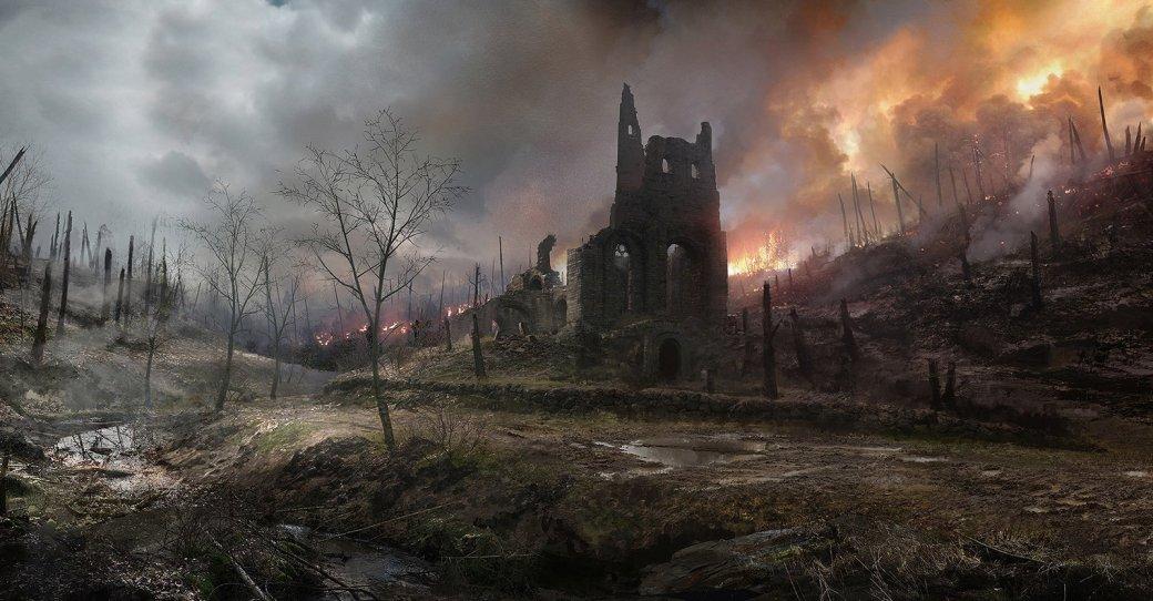 Battlefield 1: как Франция выглядит в дополнении «Они не пройдут» | Канобу