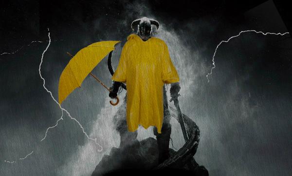 Ничего не видно! Энтузиаст сделал в Skyrim невероятно реалистичный ливень | Канобу - Изображение 2532