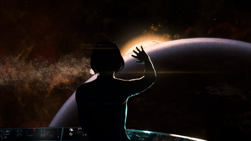Потрясающий космос Mass Effect: Andromeda   Канобу