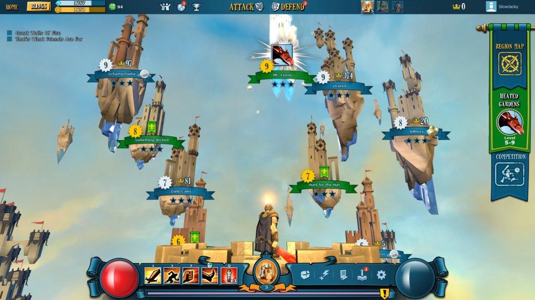 Mighty Quest for Epic Loot - Брысь от моих сокровищ | Канобу - Изображение 1