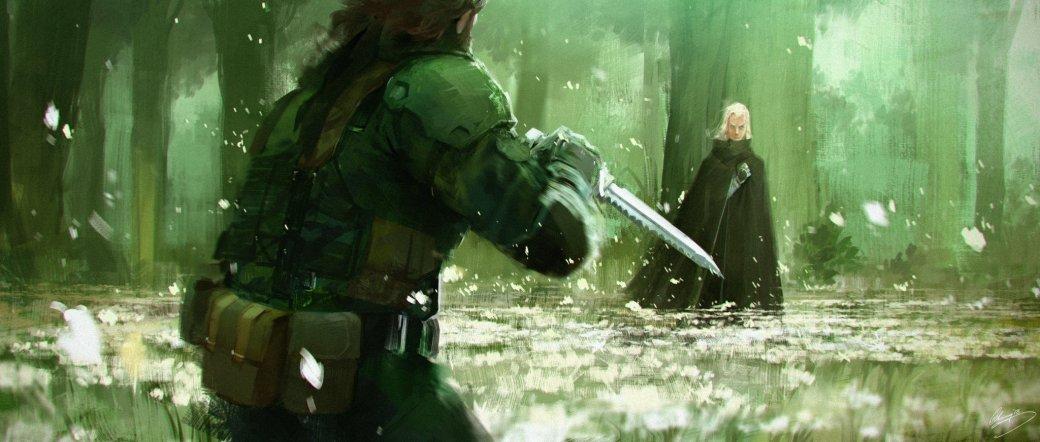 Замечательные фанарты к31-летию Metal Gear отрежиссера ееэкранизации | Канобу - Изображение 11