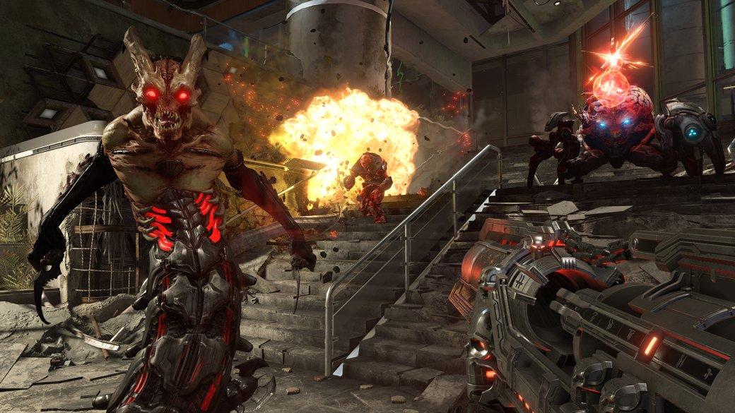 Создатели Doom Eternal показали 48 минут геймплея и проговорились о хабе в игре | Канобу - Изображение 1